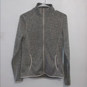 Eddie Bauer zip up fleece jacket